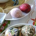Споосб украшения пасхальных яиц - примеры с фото
