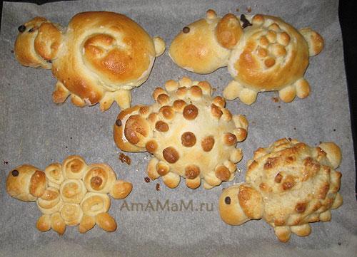 Вкусные пирожки-барашки и овечки, фото