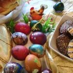 Варианты украшения пасхальных яиц