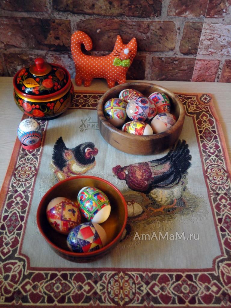 Рецепты пасхальных блюд и способы крашения яиц
