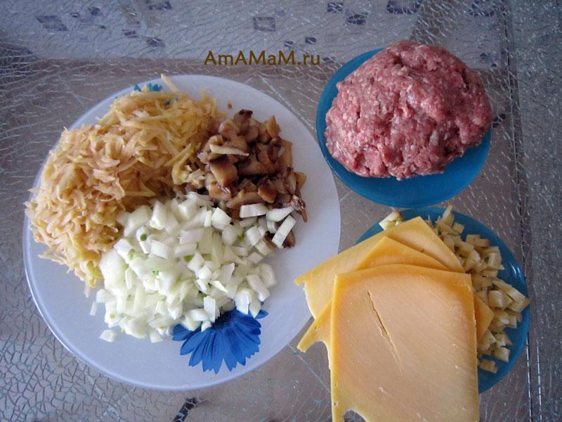 Готовим мясной рулет из фарша в духовке - рецепт с фото