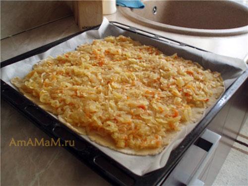 Этапы приготовления Утопленника с капустной начинкой