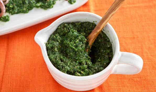 Вкусный зеленый соус - Сальса Верде - рецепт и фото