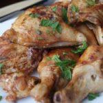 Ленивая курочка (мужской рецепт)