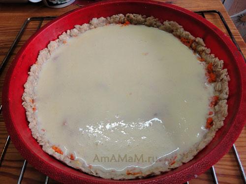 Морковка в суфле - простой пирог-десерт из моркови