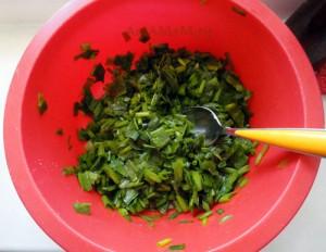 Луковая начинка из зеленого лука- рецепт и фото