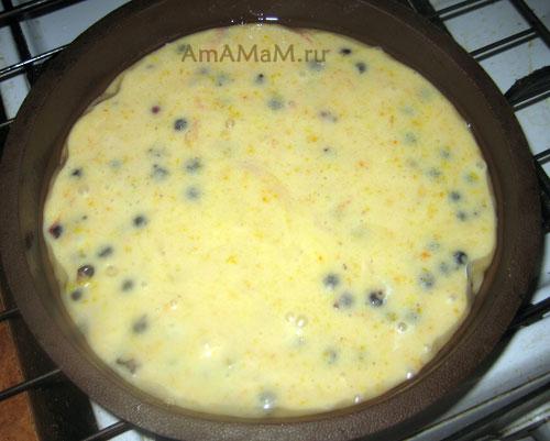 Ягодный смородиновый пирог - простой рецепт из минимума продуктов