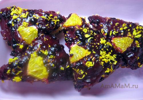 Рецепты пирогов с ягодами - смородина, вишня, слива