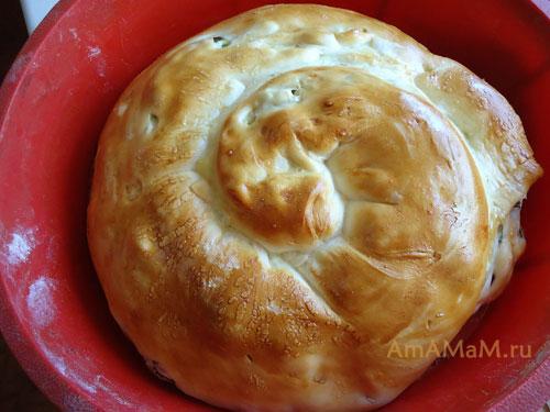Выпечка пирогов в силиконовых формах - фото и рецепт