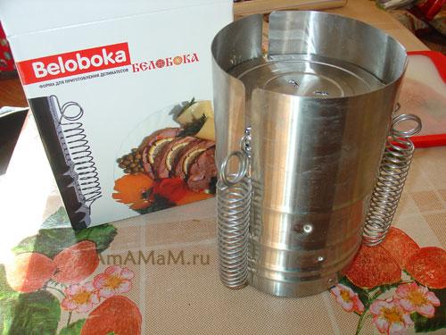 Фото - ветчинница Белобока и рецепты ветчины