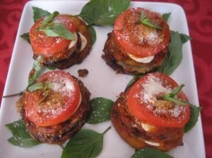 Рецепт баклажанов или кабачков с помидорами и сыром в духовке