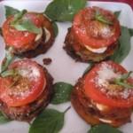 Кабачки, запеченные с помидорами и сыром