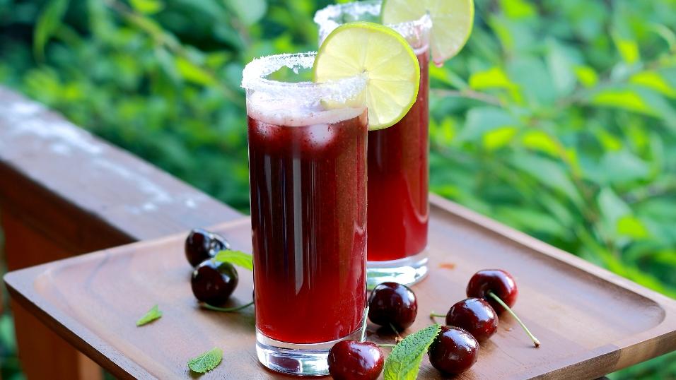 Как приготовить мохито с вишней в домашних условиях - рецепт с фото