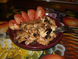 Что приготовить из куриной грудки - вкусный рецепт с фото