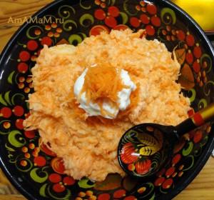 Как приготовить морковное пюре для детей и морковное пюре с яблокаии