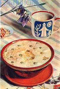 Рецепт овсяного супа с горошком на молоке - вкусная детская еда