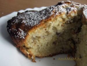 Очень вкусный кекс по простому рецепту с фото