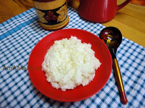Как сварить рисовую кашу: пропорции и рецепт с фото