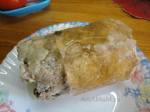 Рецепт ветчины из курицы своими руками в домашних условиях с фото