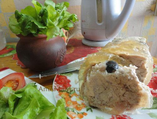 Куриная ветчина в домашних условиях своими руками - рецепт с фото