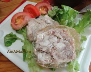 Омлет в хлебе рецепт