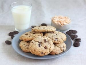 Рецепт кокосового печенья с шоколадом - простая и вкусная еда своими руками!