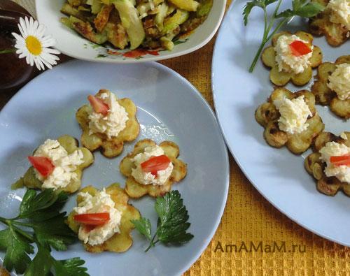 Вкусная еда из молодых кабачков - оригинальный рецепт с фото