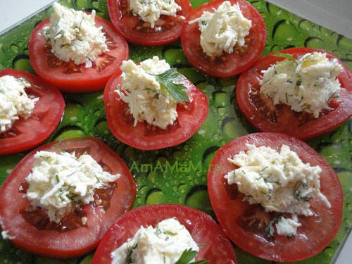 Фото помидоров с сыром и рецепт