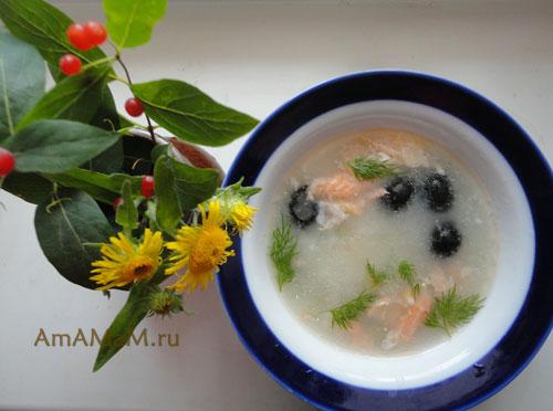 суп из кальмара рецепт с фото очень вкусный
