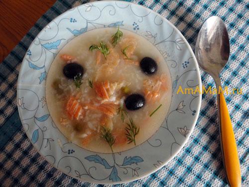 Простой и вкусный рецепт рыбного супа с красной рыбой