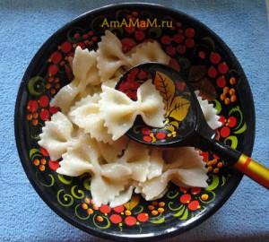 Что приготовить детям: простое и вкусное блюдо из макаронов с сахзаром - рецепт и фото