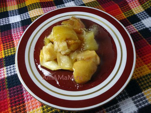 Как сварить яблочное варенье с лимоном и апельсином - рецепт и фото
