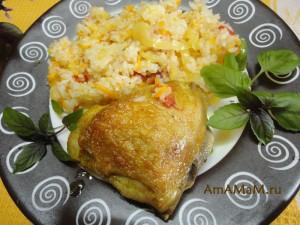 Фото бедрышек, запеченных в духовке и рецепт приготовления