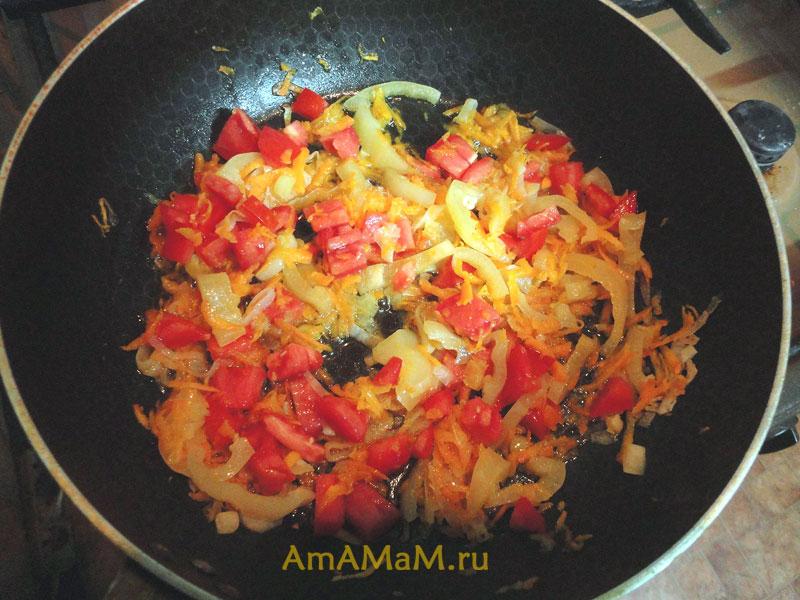 Овощи для риса - приготовление вкусного и простого блюда