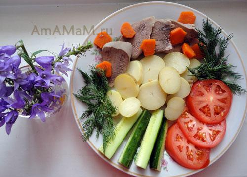 Свиной язык отварной - как готовить (простой рецепт с фото)