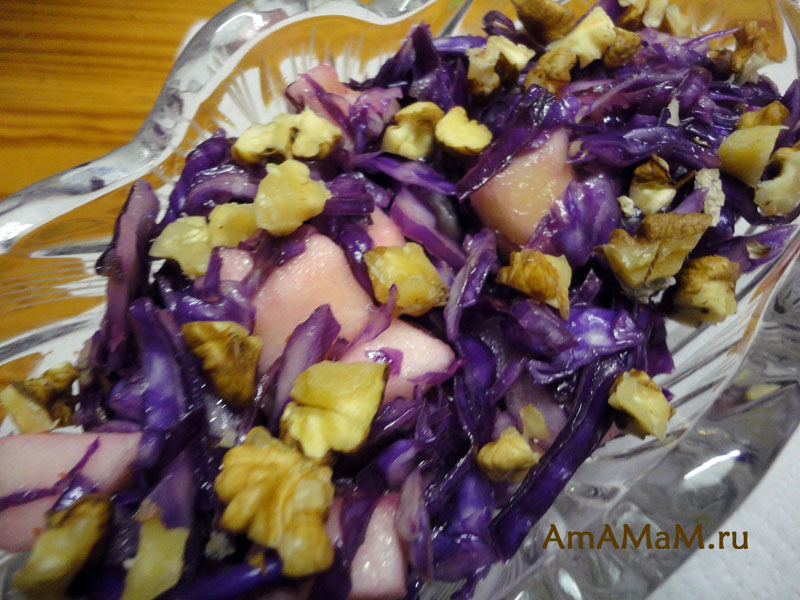блюда из краснокочанной капусты рецепты быстро и вкусно