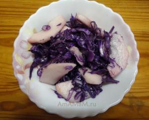 Приготовление краснокочанной капусты в домашних условиях - рецепт с фото