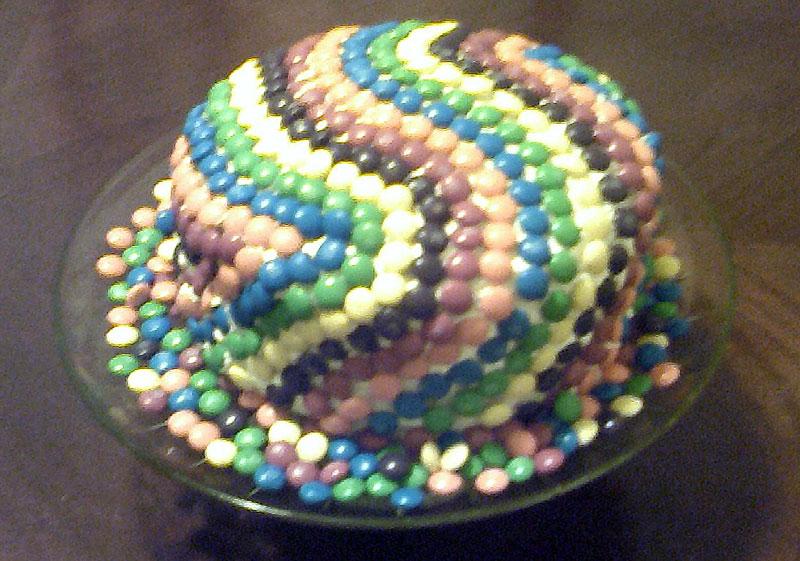 Как сделать торт похожим на змею - фото