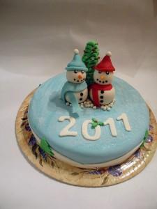 Картинки тортов на Новый год