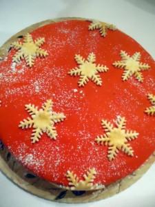 Новогодние украшения для торта- что придумать