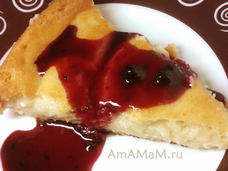 Что испечь из творога - простой рецепт пирога