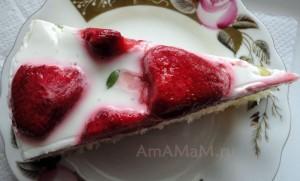 Торт-желе рецепт и фото
