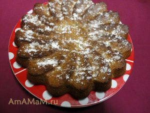 МК по приготовлению орехового пирога с грецкими орехами - рецепт и пошаговые фото