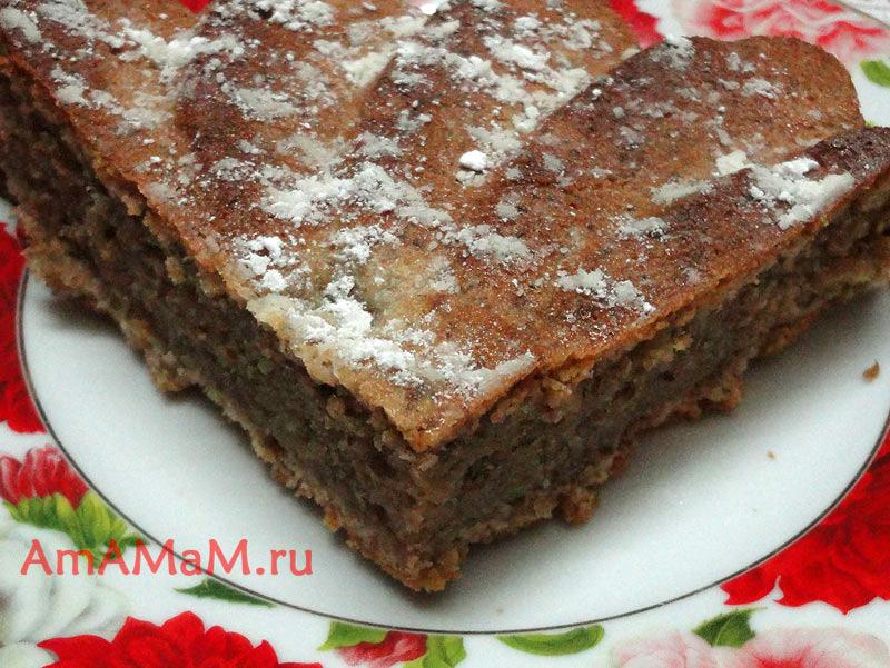 Что приготовить из грецких орехов - рецепт вкусного пирога