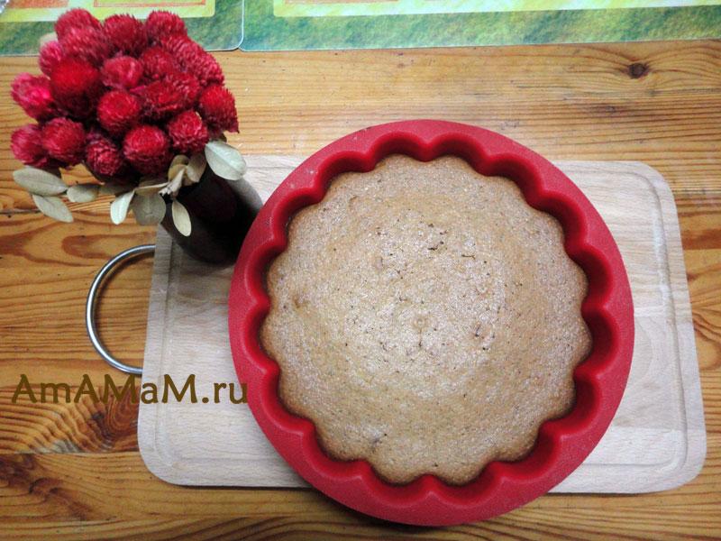 Рецепт орехового пирога с фото