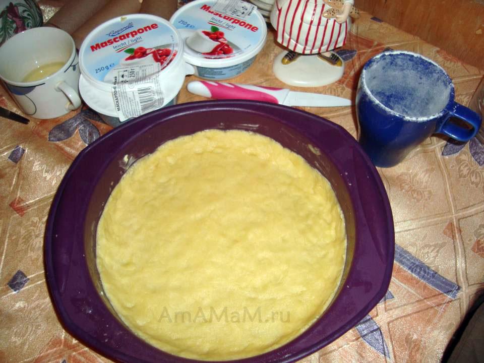 Рецепт - Основа для чизкейка