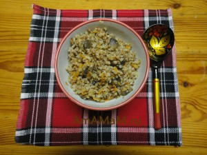 Рецепт гречневой каши с грибами