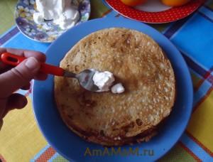 Простые и вкусные домашние блины своими руками- рецепт и фото