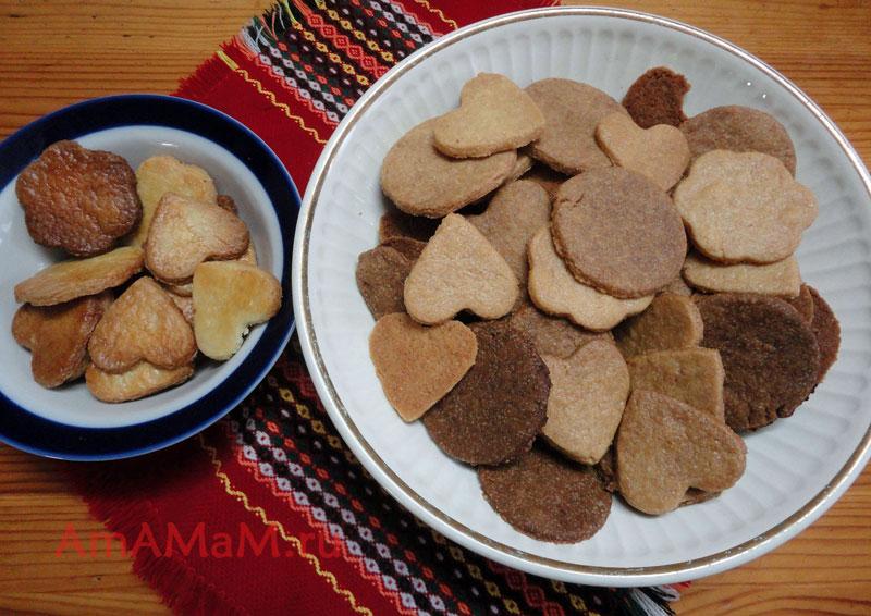 Рецепт печенья ко Дню Святого Валентина