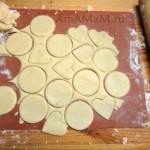 Этапы приготовления домашнего печенья